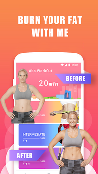 Abs Training-Burn belly fat pc screenshot 1