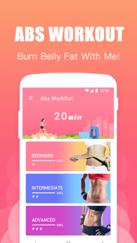 Abs Training-Burn belly fat pc screenshot 2