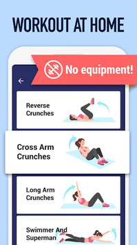 Abs Workout - Burn Belly Fat with No Equipment pc screenshot 2