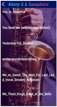 Kenny G instrumental saxophone pc screenshot 1