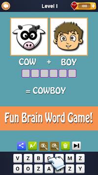 2 Pics 1 Word - Fun Word Guessing Game - Pics Quiz pc screenshot 2