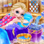 Icy Queen Spa Makeup Party for pc logo