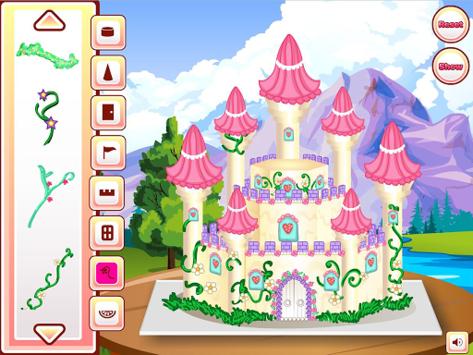 Princess Castle Cake Cooking pc screenshot 1