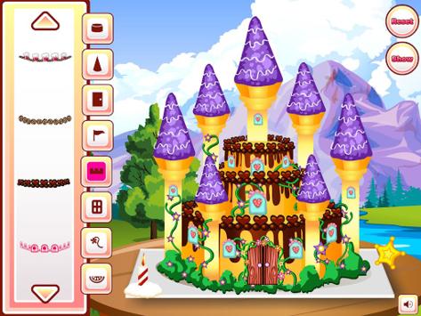Princess Castle Cake Cooking pc screenshot 2