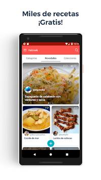 Recetas de cocina – Hatcook pc screenshot 1