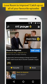 RTÉ Player pc screenshot 1