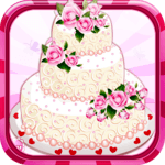 Rose Wedding Cake Game for pc logo