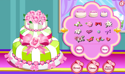 Rose Wedding Cake Game pc screenshot 1