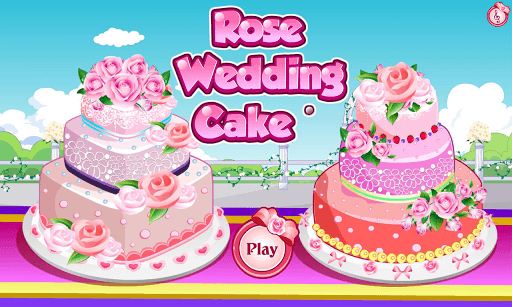 Rose Wedding Cake Game pc screenshot 2