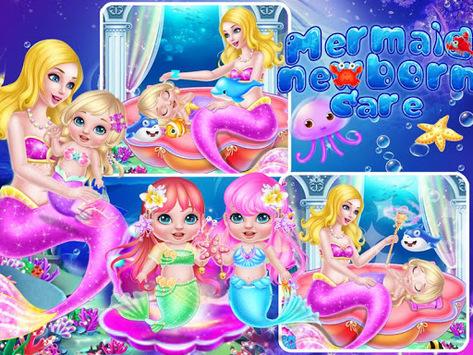 Mermaid Newborn Care pc screenshot 1