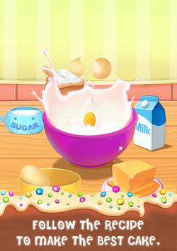 Cake Master Cooking - Food Design Baking Games pc screenshot 1