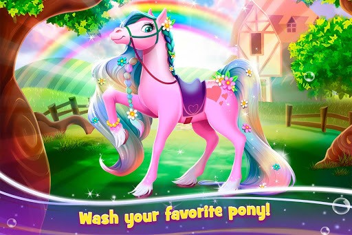 Tooth Fairy Horse - Caring Pony Beauty Adventure pc screenshot 1