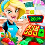 Supermarket Manager: Cashier Simulator Kids Games for pc logo