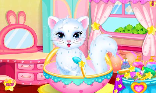Baby kitty hair salon pc screenshot 1