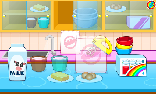 Cooking colorful cake pc screenshot 1