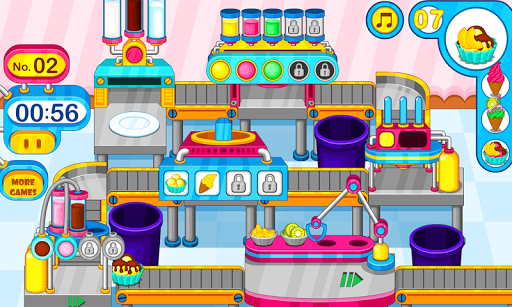 Cooking colorful ice cream pc screenshot 1