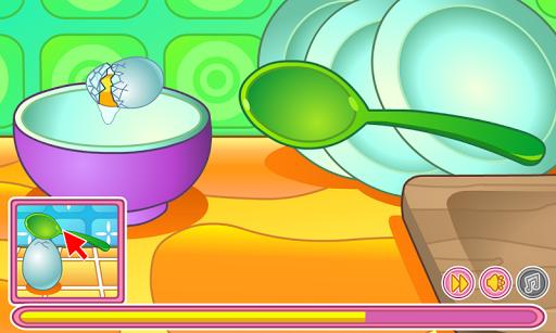 Cooking cream cake birthday pc screenshot 2