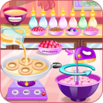 Donuts cooking games icon