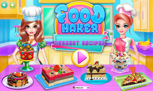 Food maker - dessert recipes pc screenshot 1