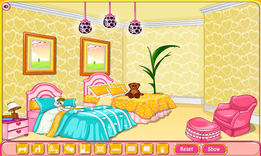Girly room decoration game pc screenshot 1