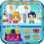 Ice cream maker game icon