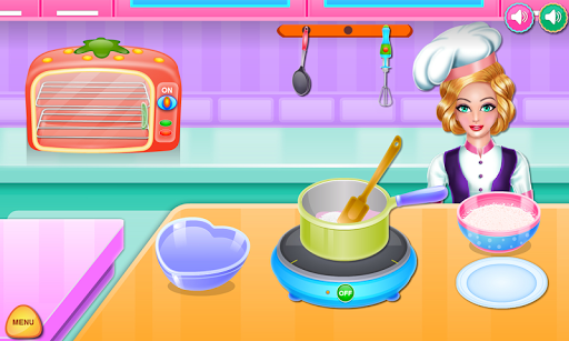 Olivia cooking strawberry cake pc screenshot 1