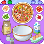 Pizza shop - cooking games for pc logo