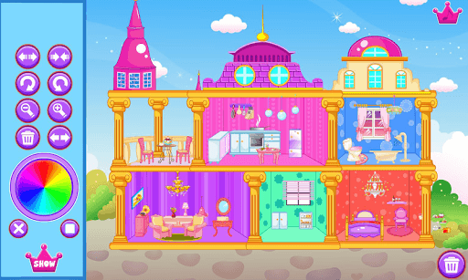 Princess doll house pc screenshot 1