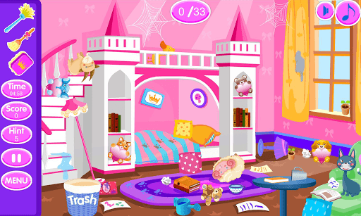 Princess room cleanup pc screenshot 1