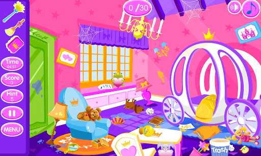 Princess room cleanup pc screenshot 2
