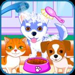 Puppy & kitty salon icon