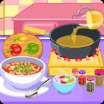 Vegetarian chili cooking game icon