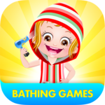 Baby Hazel Bathing Games icon