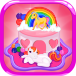 Pony Birthday Cake icon