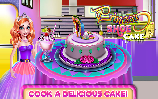 Princess Shoe Cake pc screenshot 1