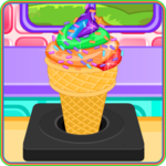 Rainbow Ice Cream Cooking icon
