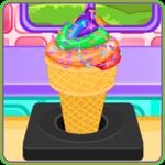 Rainbow Ice Cream Cooking for pc logo