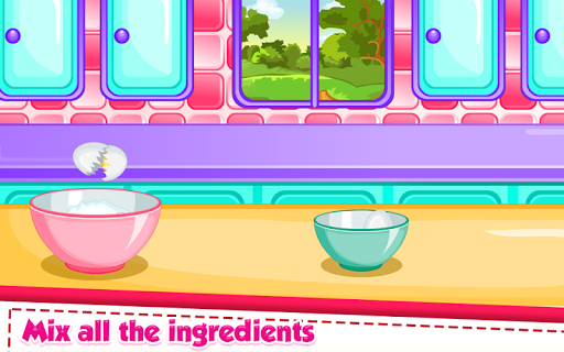 Rainbow Ice Cream Cooking pc screenshot 1