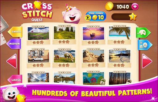 Cross Stitch Quest - Sewing Pattern Mania pc screenshot 1