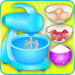 cooking games cake berries icon