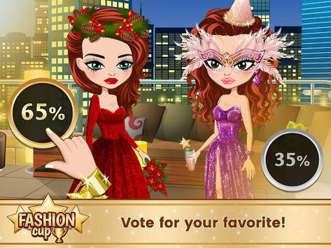 Fashion Cup - Dress up & Duel pc screenshot 2