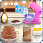 Baking and Cooking Chocolate Cake: Girl Fun Bakery icon