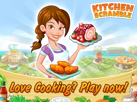 Kitchen Scramble: Cooking Game pc screenshot 1