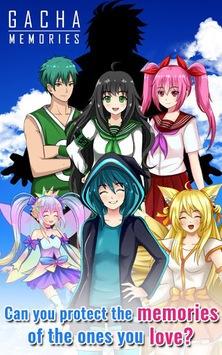Gacha Memories - Anime Visual Novel pc screenshot 1