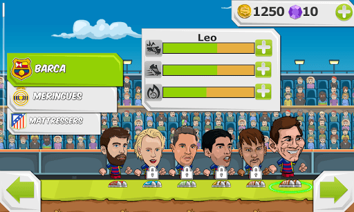 Y8 Football League Sports Game pc screenshot 1