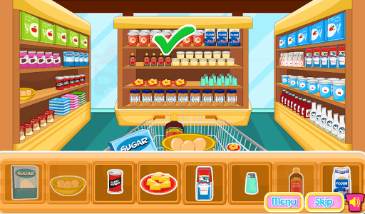 Cooking Ice Cream Cone Cupcake pc screenshot 1