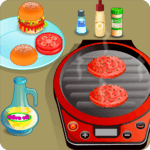 Mini Burgers, Cooking Games for pc logo