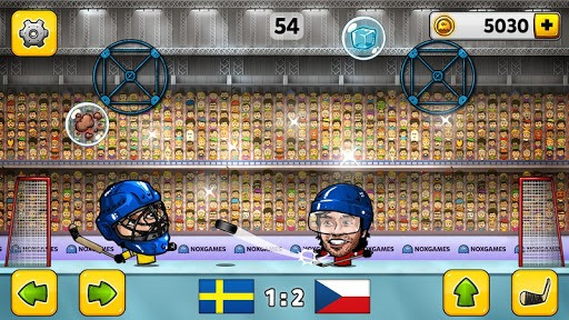 🏒Puppet Ice Hockey: Pond Head 🏆 pc screenshot 1