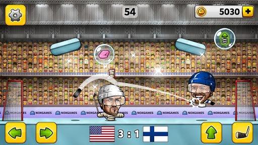 🏒Puppet Ice Hockey: Pond Head 🏆 pc screenshot 2