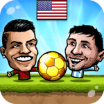 ⚽Puppet Soccer 2014 - Big Head Football 🏆 for pc logo
